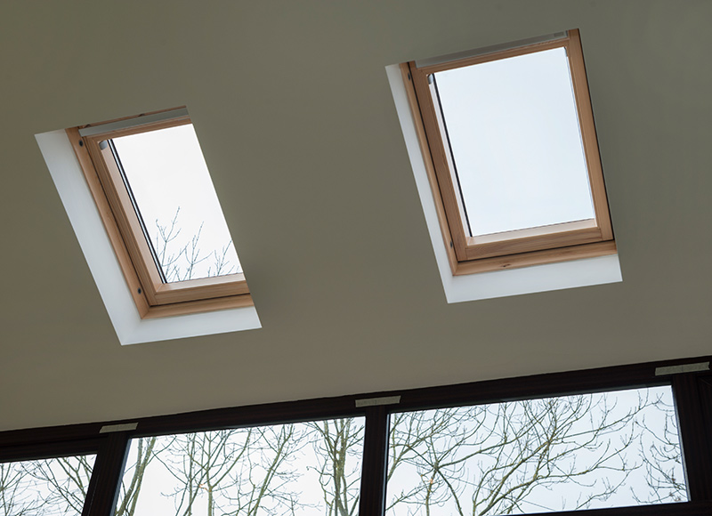 Select centre pivot windows to accompany your Solid Tiled Roof...