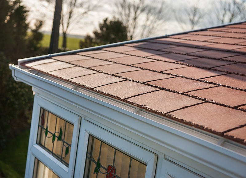 Our roof tiles share a similar durability to the real thing...